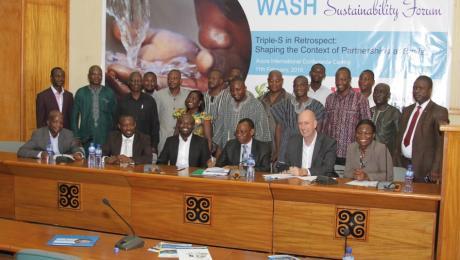 Forum participants in Ghana