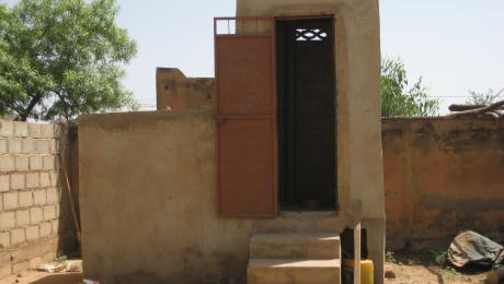 EcoSan Latrine in Burkina