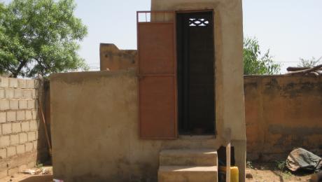 EcoSan Latrine in Burkina