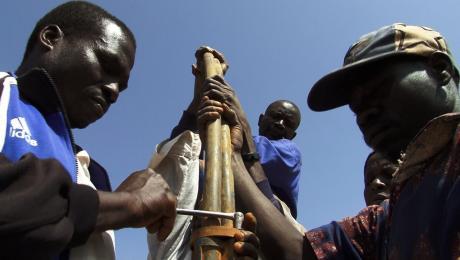 Pump repair men