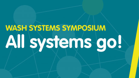 Banner: WASH Systems Symposium All systems go!
