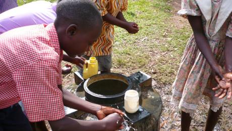 Handwashing in Uganda