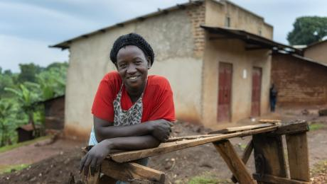 Woman in Fort Portal