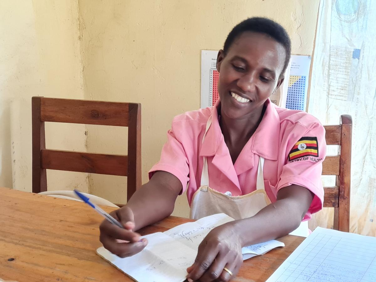 Mary Nyangoma, I am 37 years old, and a Nursing Assistant and Infection Prevention and Control (IPC)