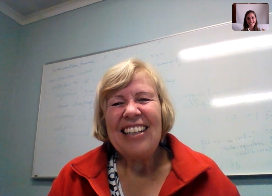 Skype interview with Barbara van Koppen