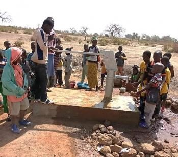 Water and sanitation facilities in 3 communes in Mali (M.Kane, IRC Mali)