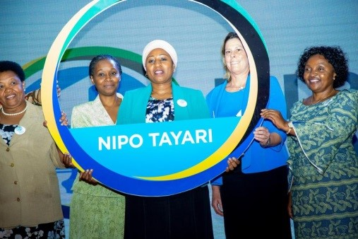 Tanzania's Minister of Health Hon. Ummy Mwalimu commits to the campaign