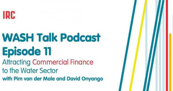 Podcast announcement on commercial finance for water utilities