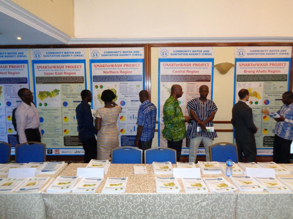 Ghana WASH monitoring event, 2015. Photo: Ton Schouten/IRC