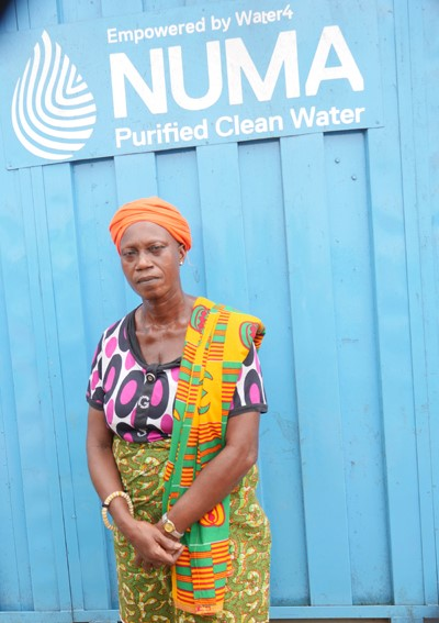 Queen Mother Nana Yaa Agoh II wants more household connections to the Numa water system in Wassa Edwenase