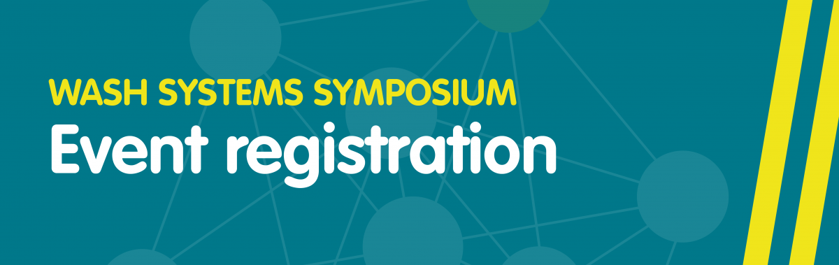 IRC WASH Systems Symposium Registration