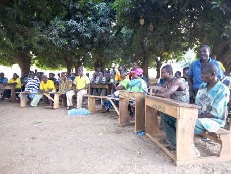 Engaging community and duty bearers for solutions to the existing sanitation challenges